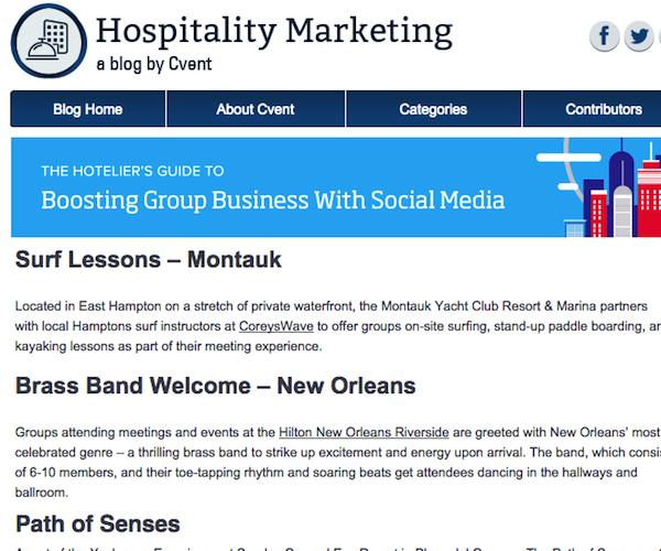 Hospitality Marketing | Image: 1